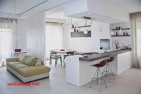 cuisine moderne ouverte sur salon papier peint salon salle a manger pour decoration cuisine moderne