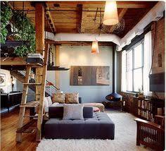 Loft Interior Luxurious Living Room Design With Modern Classic Interior Lofts