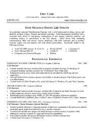 mechanical engineering resume samples mechanical engineering