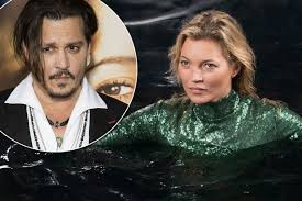 moss and kate moss makes cheeky dig at ex johnny depp in new absolutely