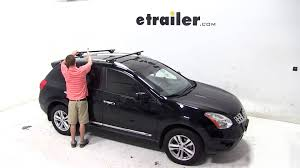nissan rogue youtube 2014 19 nissan rogue roof rack 2014 nissan rogue roof rack by thule