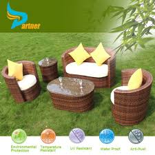 Pvc Wicker Outdoor Furniture by Outdoor Pvc Resin Wicker Patio Furniture High Back Chairs And