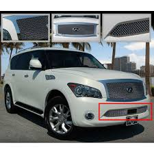 lexus qx56 for sale e u0026g classics 2011 2014 infiniti qx56 grille lower only heavy mesh