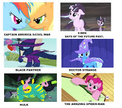 Pony Memes - my little pony marvel movies meme by brandonale on deviantart