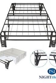 night therapy platform metal bed frame foundation set smartbase