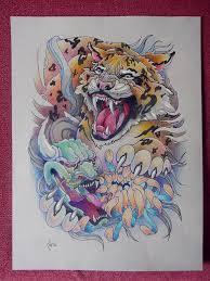 design tiger and hanya mask by xenija88 on deviantart