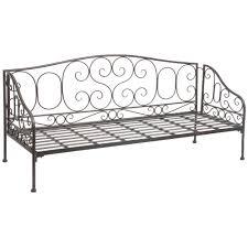 canapé en fer forgé canapé lit fer forgé intérieur déco
