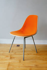furniture hermanmiller orange herman miller caper stacking chair