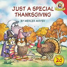 critter just a special thanksgiving mercer mayer