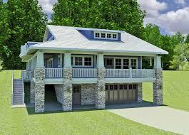 unique hillside lake house plans magnificent 18 walkout basement