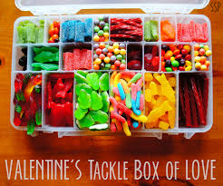 valentine tackle box crafts pinterest tackle box box and gift