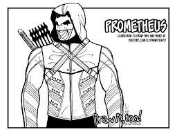 prometheus arrow u2013 draw it too