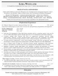 Managers Resume Sample top medical office manager resume samples cover letter sample