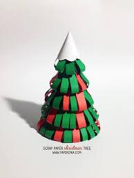 scrap paper christmas tree paperonia pam muljono