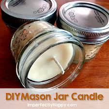 Mason Jar Candle Ideas Diy Mason Jar Candles Imperfectly Happy Homesteading