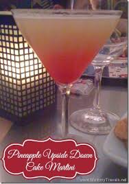 pineapple upside down cake martini recipe pineapple upside