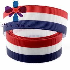 striped grosgrain ribbon aliexpress buy 6mm 75mm white blue stripe grosgrain