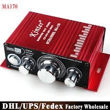 free fedex dhl 40pcs lot ma170 mini 2 channel hi fi stereo