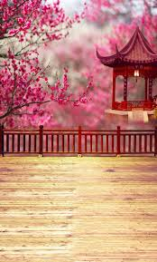 wedding backdrop background computer printed flowers traditional pavilion