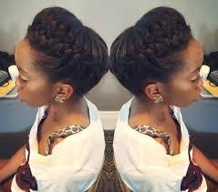 pin up hair styles for black women braided hair 50 cute updos for natural hair