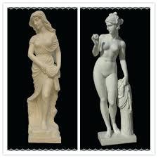 marble statue sculpture garden statues