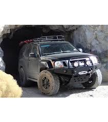 nissan xterra lifted nissan xterra 00 04 ranger rack multi light setup with