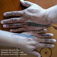 wedding ring tattoos samoa planet