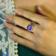 arkadia wedding band sugilite sterling silver handcrafted 35 carat ring arkadia