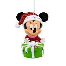 hallmark disney minnie mouse baby s 1st 2016