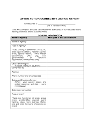 after report template 2018 after report template fillable printable pdf