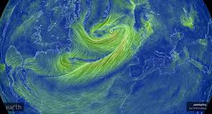 Earth Wind Map An Interactive Map Showing Wind Movement Around The World Image