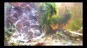Diy Aquascape My Diy Aquascape Under Water Waterfall Youtube
