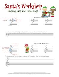 christmas music worksheets for helping kids learn to draw the