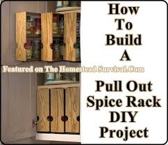 Woodworking Plans Spice Rack Pull Out Spice Rack Plans 990