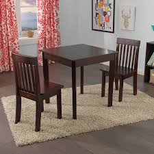 table and 2 chairs set amazon com kidkraft square table 2 avalon chair set white toys