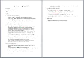 resume sle for warehouse worker 28 images production worker