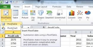 Excel 2010 Pivot Table Introduction To Slicers In Excel 2010 Sheetzoom Free Excel Training