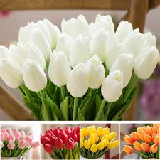tulip bouquets 1 pcs tulips silk tulipanes artificial flowers tulips for