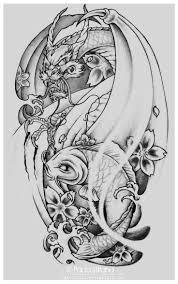 best 20 koi dragon tattoo ideas on pinterest koi dragon