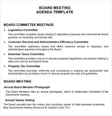 board meeting agenda 11 free samples examples format