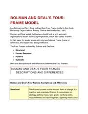 bolman and deal four frames bolman and deal s four frame model bolman and deal s fourframe