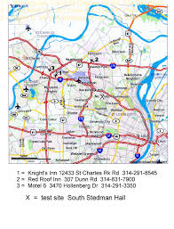 Map Of St Louis Mo March 13 2011 The Gateway Tracking Club St Louis Mo