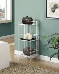 Iron Folding Bookcase Zipcode Design Georgette 3 Tier Folding Metal Shelf 32