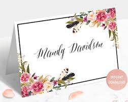 Wedding Table Cards Wedding Table Cards Etsy