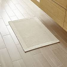 Jute Bathroom Rug Bathroom Rugs And Bath Mats Crate And Barrel