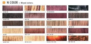 colors of marley hair hair color chart m color janet collection
