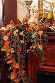 fireplace mantel decor ideas for decorating for thanksgiving