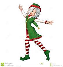 dancing christmas elf royalty free stock photos image 2847168