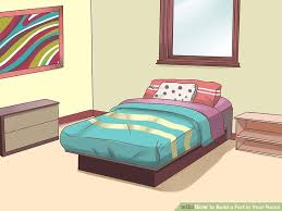 how to build a bedroom 4 ways to build a fort in your room wikihow