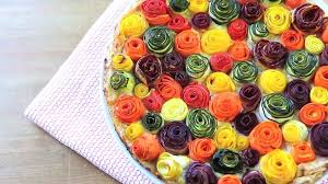 zucchini and carrots roses tart watch or download downvids net